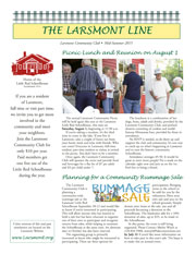 Larsmont July 2015 Newsletter