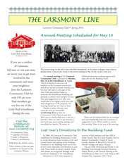 Larsmont May 2016 Newsletter